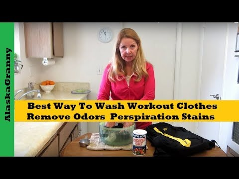 Best Way To Wash Workout Clothes To Remove Odors And Perspiration Stains