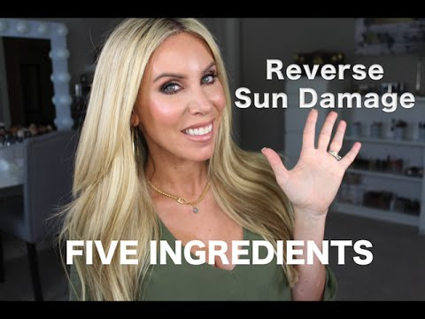 How to Get Rid Of Sun Damage! 5 Ingredients for Clear, Even Toned Skin