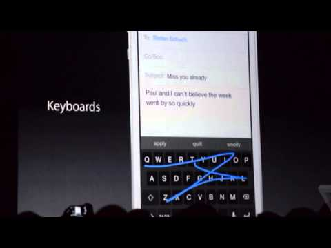 WWDC 2014 Recap - iOS 8 Includes Widgets, Extensions, Swype Keyboard & More!)