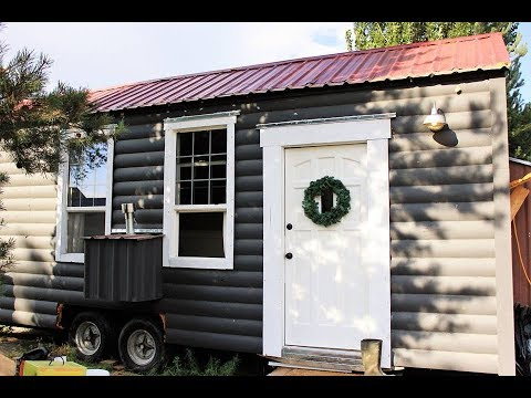 TAD HOMES Tiny house on wheels video tour!