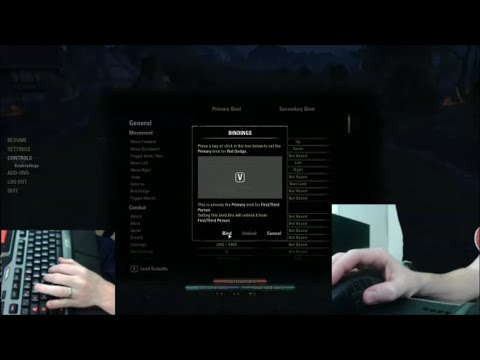 Keybinding Setup for The Elder Scrolls Online