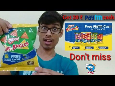 Bingo! Mad Angles : kho aur pau paytm cash in every pack
