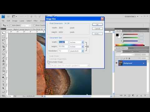 1.4 Resize Images: Adobe Photoshop CS4 Video