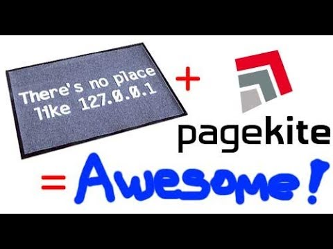 pagekite make localhost part of the Web