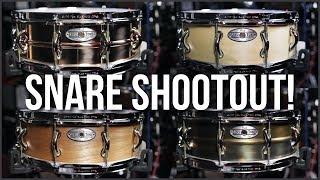 Pearl Sensitone Snare Drum Shootout