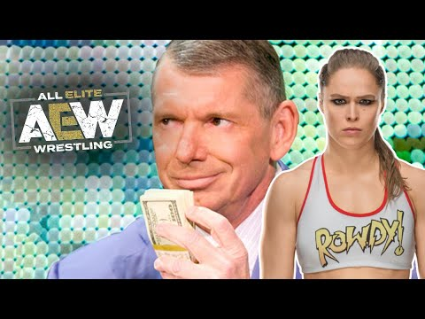 WWE Statement On Ronda Rousey's Future & Offering BIG Money To Stop AEW Departures