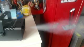 Test Machine A Fumée Boulanger