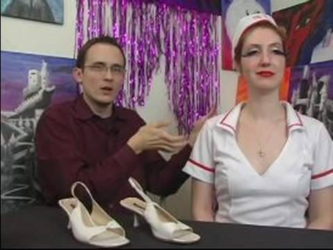 How to Make a Sexy Nurse Costume for Halloween : Shoes for Sexy Nurse Costumes