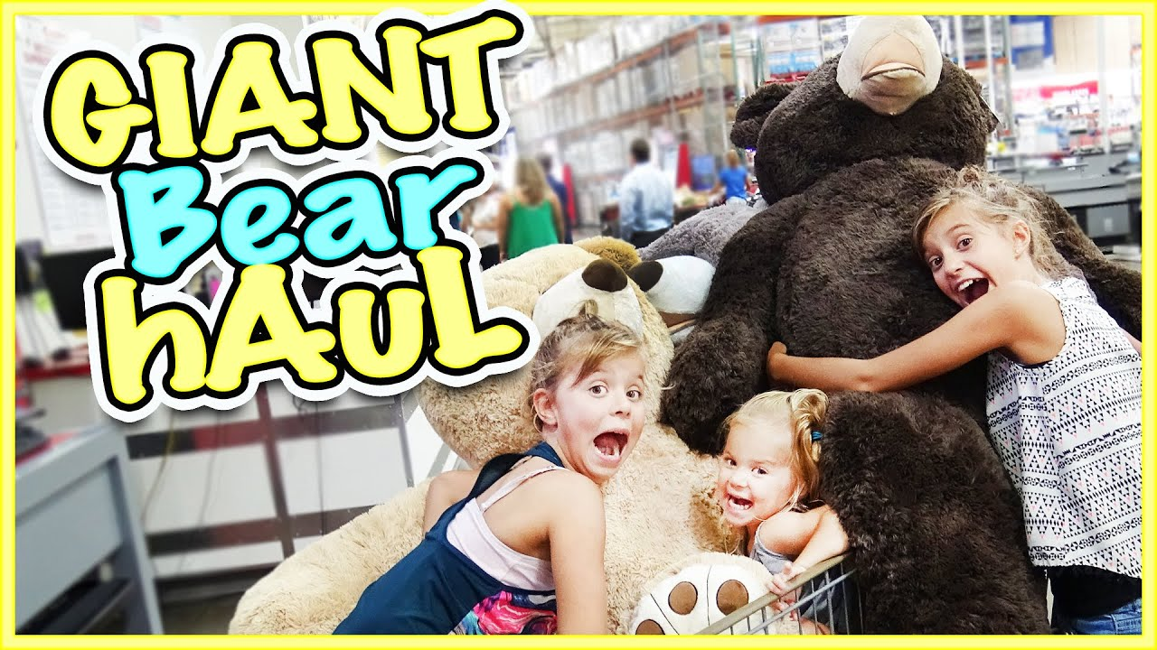 🐻 MEGA GIANT TEDDY BEAR HAUL AT COSTCO! 🐻 Our Longest Vlog Ever!!