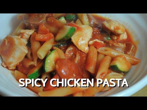 SPICY CHICKEN PASTA - Student Recipe