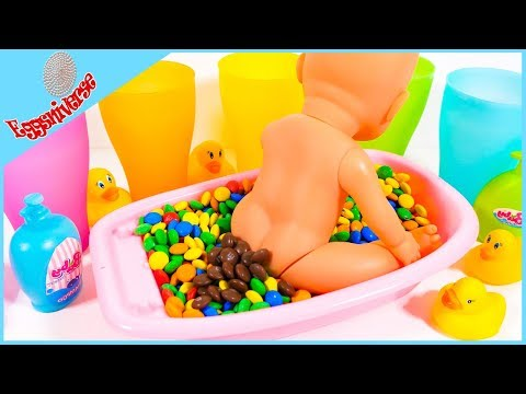 Learn the colors Baby bath #babybath #baby #nursery #nurseryrhimes #colors #learnthecolors #poop