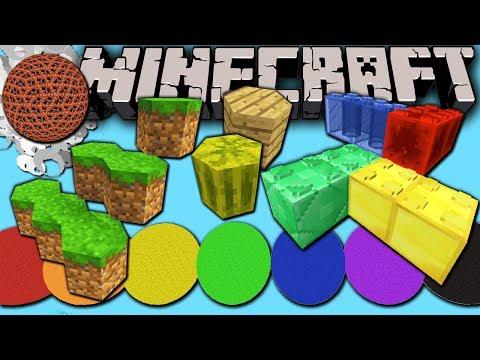 Minecraft 1.8 Snapshot: Lego, Hexagon, Sphere & Man-Cactus? Easy Custom Block Model Resource Packs!