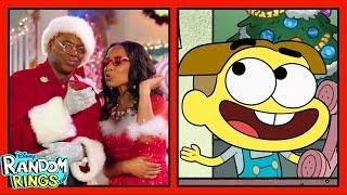 Santa Calls Cricket 🎅 | Random Rings | Big City Greens & Raven's Home | Disney Channel Animation