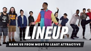 Rank Me from Least Attractive to Most Attractive | Lineup | Cut