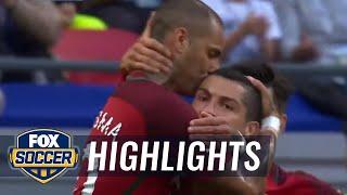 Ricardo Quaresma scores for Portugal vs. Mexico | 2017 FIFA Confederations Cup Highlights