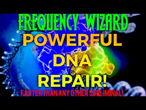 PURE DNA REPAIR FREQUENCY! BINAURAL BEATS MEDITATION HYPNOSIS FREQUENCY WIZARD SPELL