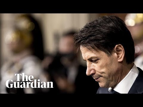 Giuseppe Conte: 'I have given up my mandate to form a government of change'