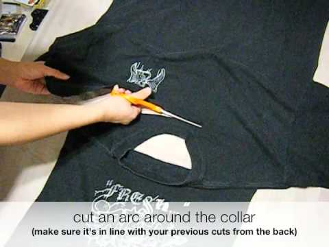 How to Make a Cape Out of a T-shirt in 2 minutes