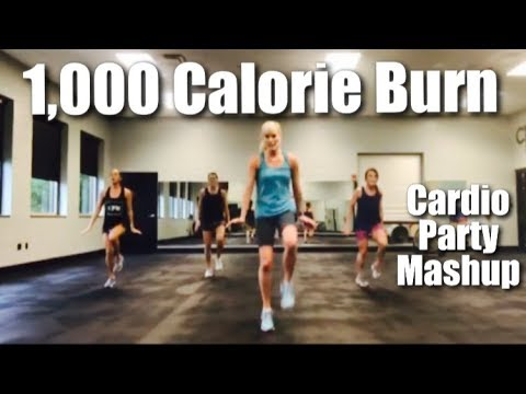 1,000 Calorie Burn Workout | Cardio Party Mashup Fitness