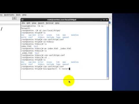 How to Install Apache on Linux from Source -- Overriding Directives Locally