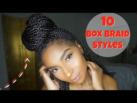 10 NEW STYLES FOR BOX BRAIDS: REQUESTED|JAMEXICANBEAUTY