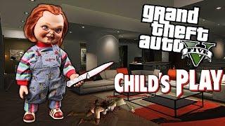 "GTA 5 Mods - CHUCKY ""KILLER DOLL"" MOD! (GTA 5 Mods Gameplay)"