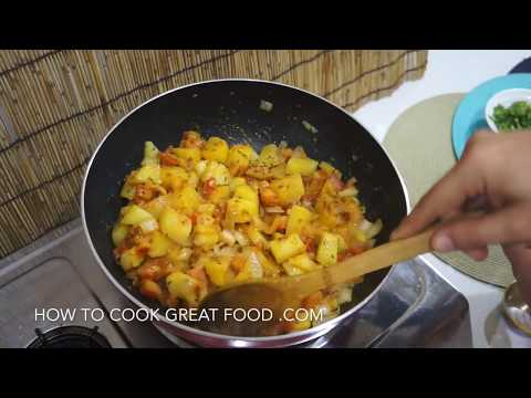Easy Indian Potato Curry Recipe - Vegan - Aloo Masala