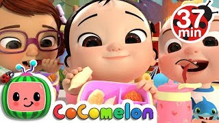 The Lunch Song + More Nursery Rhymes & Kids Songs - CoCoMelon