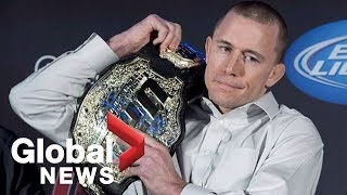 Download ″There are no tears″: GSP announces his retirement from MMA Video