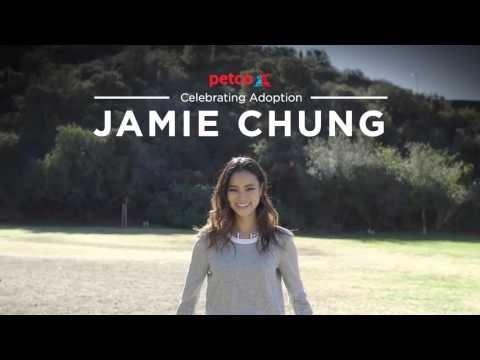 Jamie Chung - Think Adoption First (Petco)