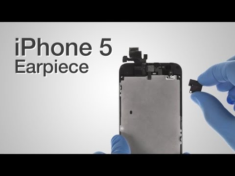 Earpiece Repair - iPhone 5 How to Tutorial