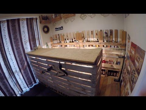 My Home Made Pallet Bar