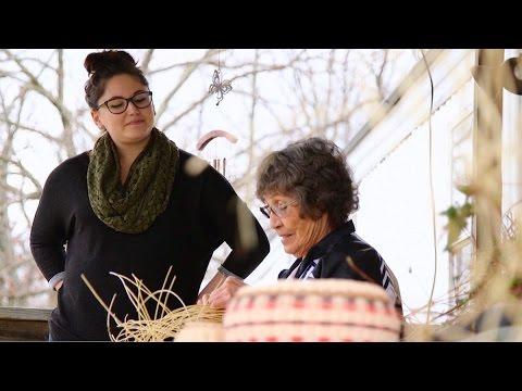 Basket Weaver Bessie Russell