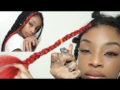 PUT A LITTLE RED IN YOUR BRAIDS BBY GIRL !