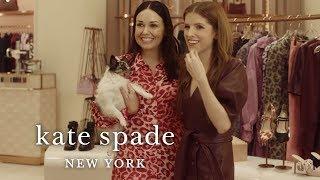 anna kendrick and tia's big fashion week adventure   kate spade new york