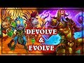 Devolve & Evolve Wild ~ The Witchwood Hearthstone Heroes of Warcraft