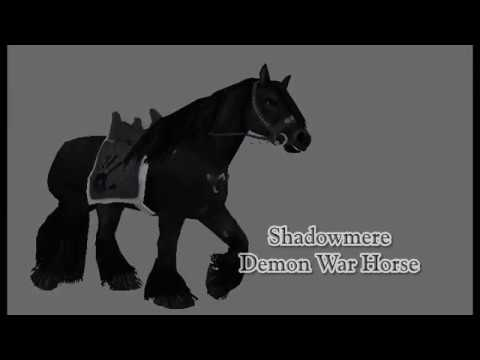 Dream's Unique Horses - Skyrim Mod