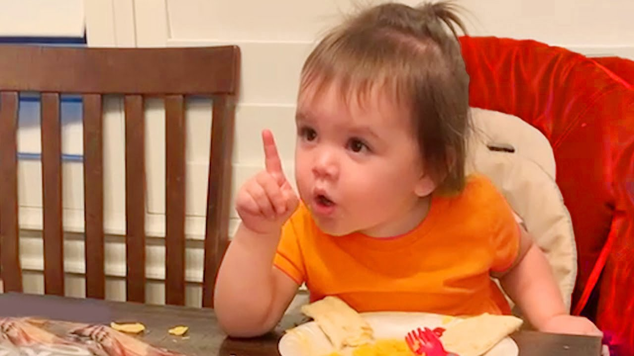 Funniest Baby's Actions Like a Boss -  JustSmile