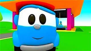 Leo el Pequeño Camión - Carritos para niños - Pequeño Leo - Autos de choque