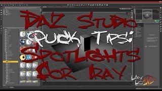 Epic Godrays & Volumetric Light for Daz Studio iRay (TUTORIAL) - The