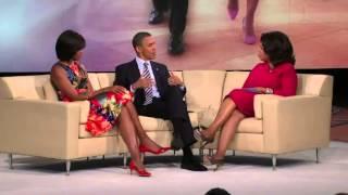 Oprah- Barack n Michelle