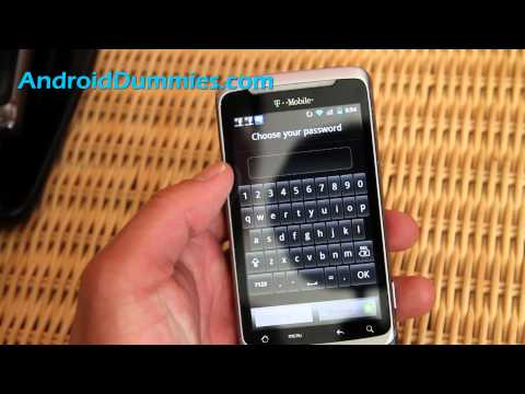 How to Setup Screen Lock/Password on Your Android Smartphone!