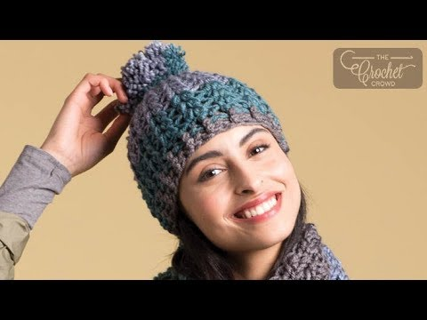 How to Crochet A Hat: ☃️  Artsy Puff Stitch