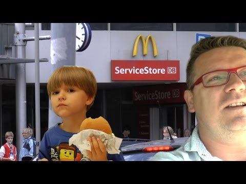 Going to Legoland in Denmark and McDonald's Toys in Germany-Vlog