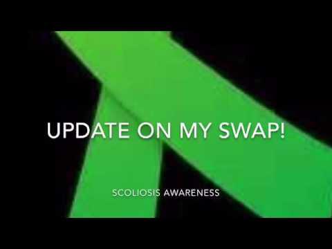 Update on my scoliosis awareness swap