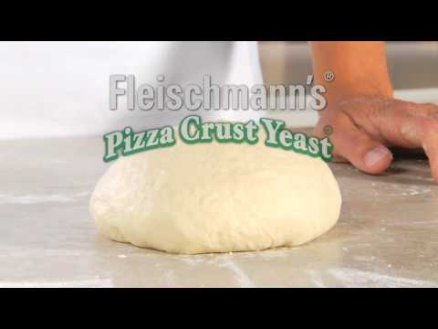 Easy Steps: Fleischmann's Pizza Dough