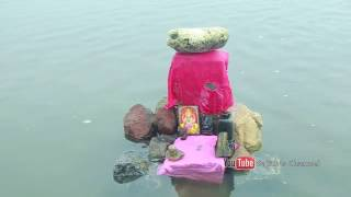 The mysterious Floating Stone @ Ram Setu , Rameswaram - India