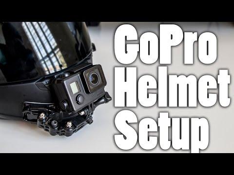 GoPro Chin Mount Motorcycle Helmet Setup