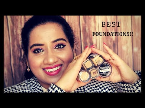 Best 5 Drugstore Foundations Available In India & Also Abroad   Haul & Review   Happy Pink Studio