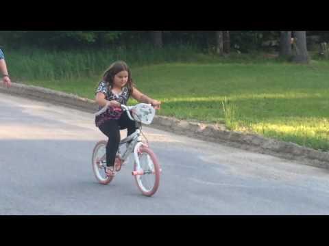 Sydney Rides a Bike